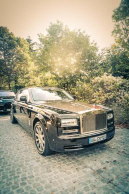 location de Rolls pour mariage avec chauffeur